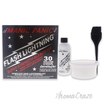 Picture of Flash Lightning Bleach Kit 30 Volume by Manic Panic for Unisex 6 Pc Kit