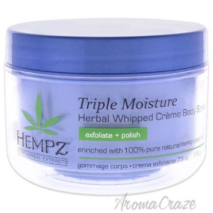 Picture of Triple Moisture Herbal Whipped Creme Body Scrub by Hempz for Unisex - 7.3 oz Scrub