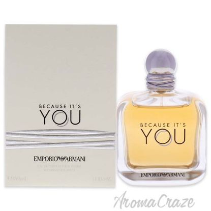 Picture of Because It Is You by Emporio Armani for Women 5.1 oz EDP Spray