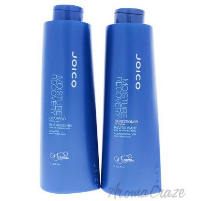 Picture of Moisture Recovery Kit by Joico for Unisex - 2 Pc Kit 33.8 oz Shampoo, 33.8 oz Conditioner