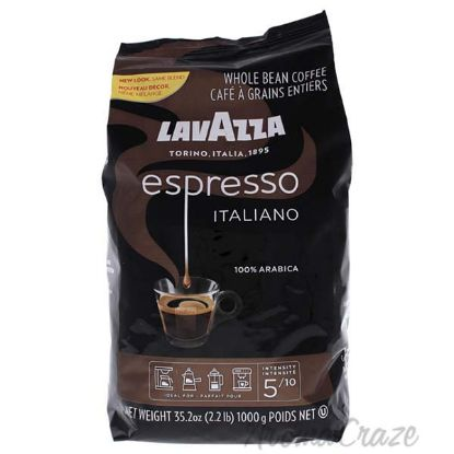 Picture of Caffe Espresso Medium Roast Whole Bean Coffee by Lavazza for Unisex - 35.2 oz Coffee
