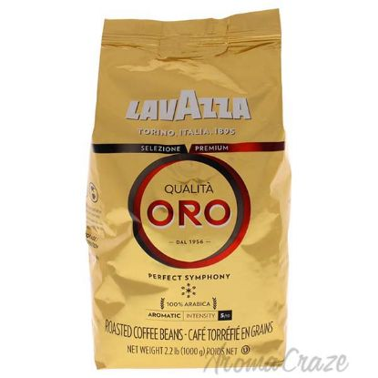 Picture of Qualita Oro Coffee Roast Whole Bean Coffee by Lavazza for Unisex - 35.2 oz Coffee