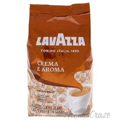 Picture of Crema e Aroma Roast Whole Bean Coffee by Lavazza for Unisex - 35.2 oz Coffee