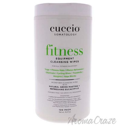 Picture of Somatology Fitness Equipment Cleansing Wipes by Cuccio for Women - 100 Count Wipes