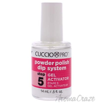 Picture of Pro Powder Polish Dip System Gel Activator - Step 5 by Cuccio for Women - 0.5 oz Nail Polish
