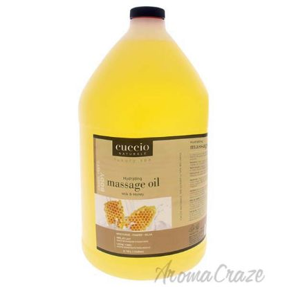 Picture of Luxury Spa Hydrating Massage Oil - Milk and Honey by Cuccio for Unisex - 1 Gallon Oil