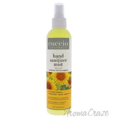 Picture of Hand Sanitizer Mist - Sunflower Oil and Eucalyptus by Cuccio for Unisex - 8 oz Hand Sanitizer