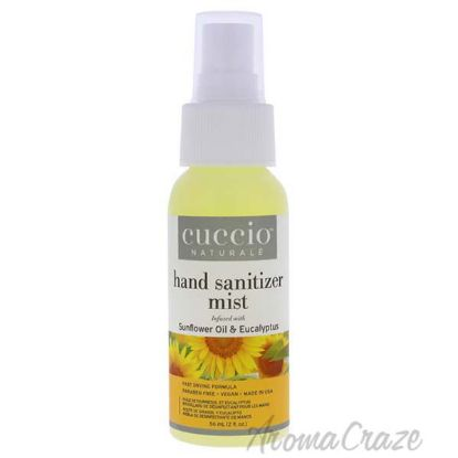 Picture of Hand Sanitizer Mist - Sunflower Oil and Eucalyptus by Cuccio for Unisex - 2 oz Hand Sanitizer