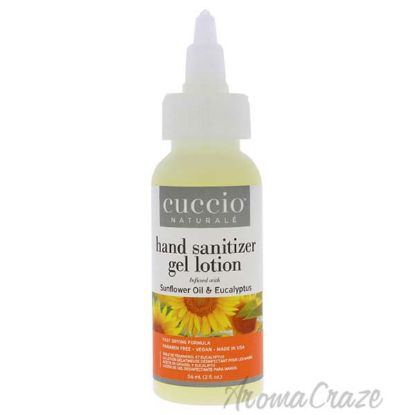 Picture of Hand Sanitizer Gel Lotion - Sunflower Oil and Eucalyptus by Cuccio for Unisex - 2 oz Hand Sanitizer