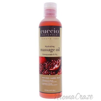 Picture of Hydrating Massage Oil - Pomegranate and Fig by Cuccio for Unisex - 8 oz Oil
