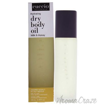 Picture of Hydrating Dry Body Oil - Milk and Honey by Cuccio for Unisex - 3.38 oz Oil