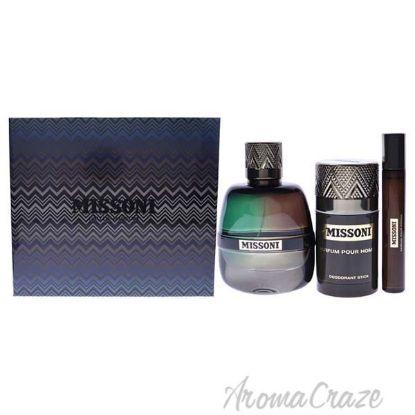 Picture of Missoni by Missoni for Men - 3 Pc Gift Set 3.4oz EDP Spray, 0.33oz EDP Spray, 2.5oz Deodorant Stick