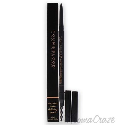 Picture of On Point Brow Defining Pencil - Dark Brown by Youngblood for Women - 0.012 oz Eyebrow Pencil
