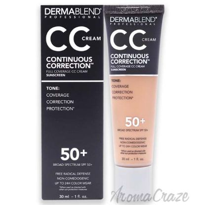Picture of Continuous Correction CC Cream SPF 50 - 43N Medium by Dermablend for Women - 1 oz Makeup