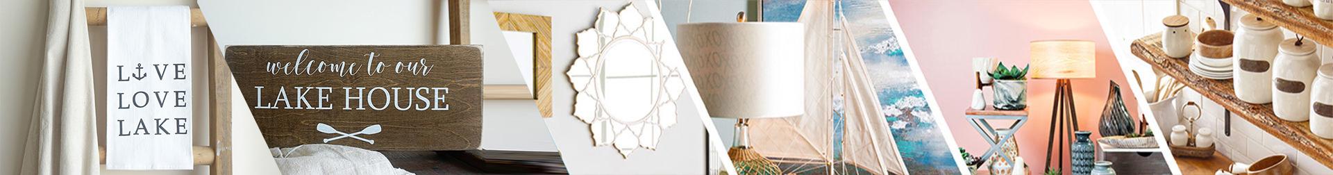 Lake Life - Cotton Tea Towel at Best Price | Wooden Signs | AromaCraze.com