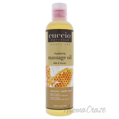 Picture of Hydrating Massage Oil Milk and Honey by Cuccio for Unisex 8 oz