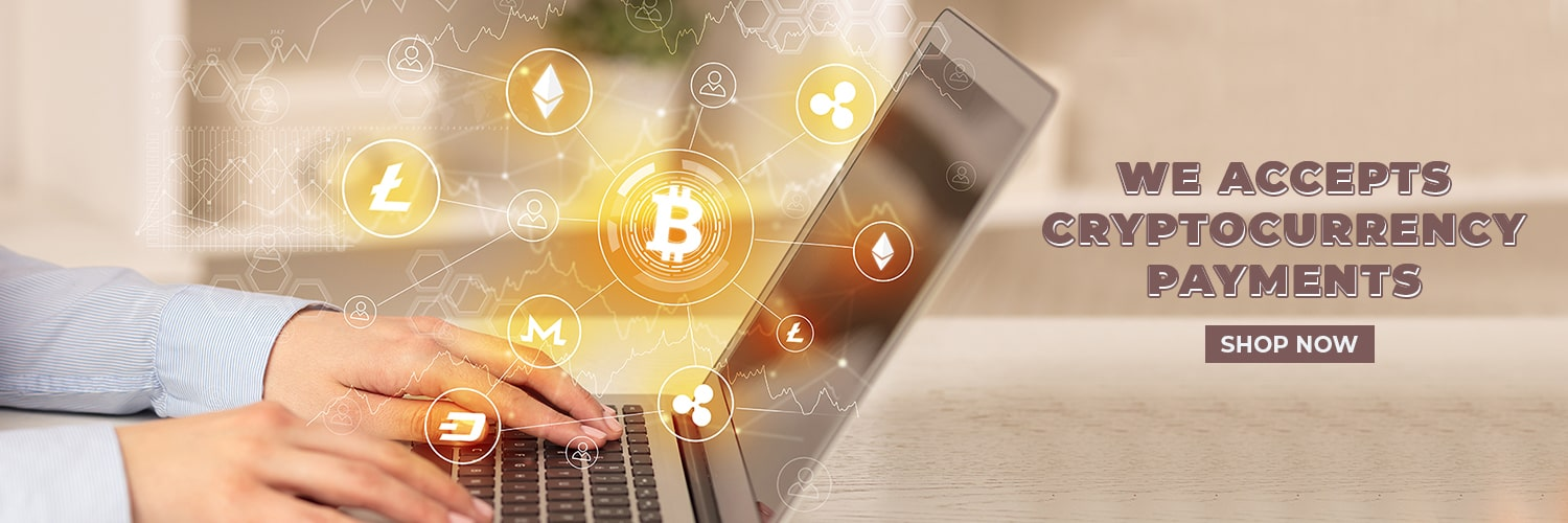 we accept cryptocurrency payments
