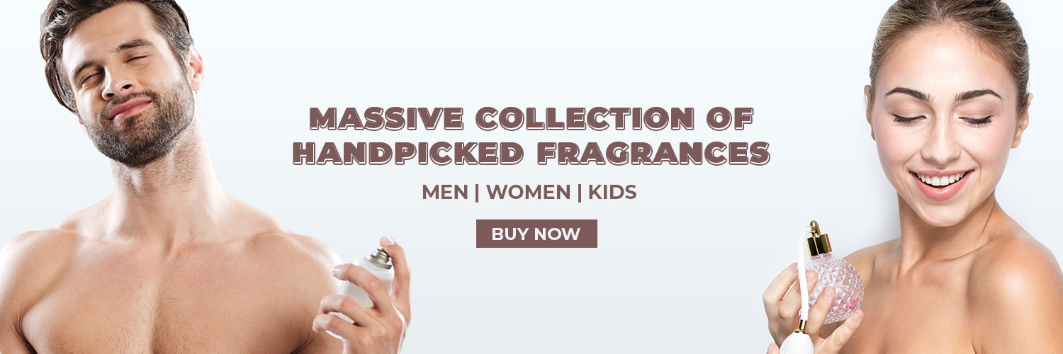 massive collection of handpicked fragrances